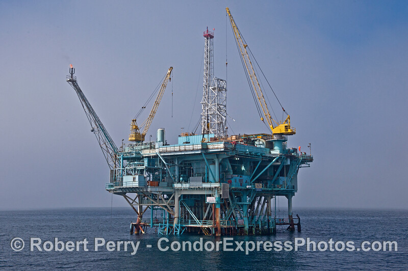 Offshore oil and gas Platform A