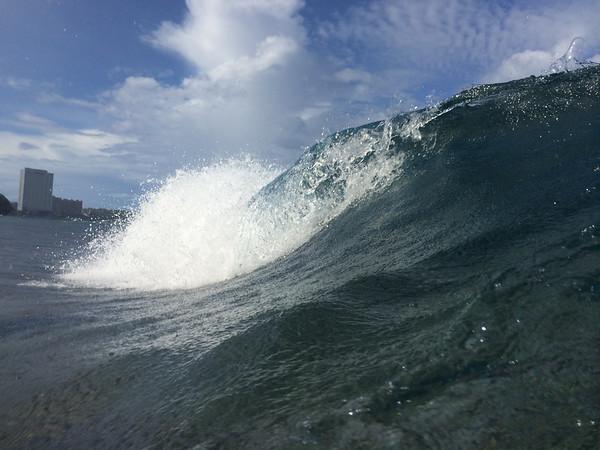 2014-09-12 Waves & Rainbows at Gun Beach