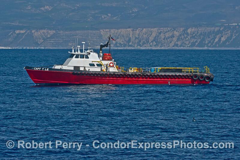 """Offshore oil platform suppor vessel """"Capt T Le"""""""