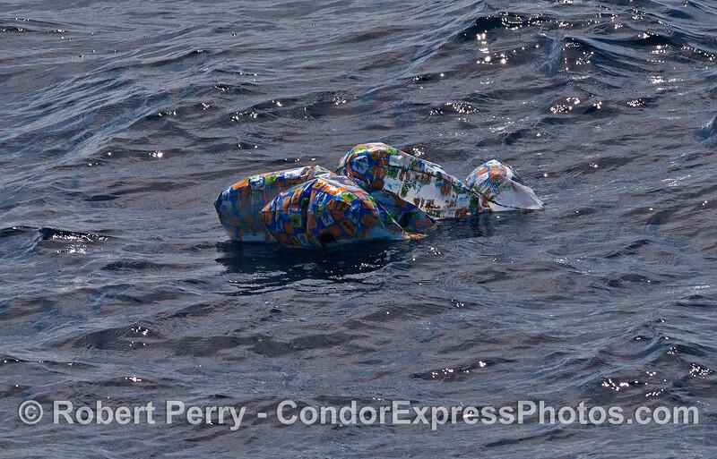 Balloon cluster - dangerous human debris from pagan ritual