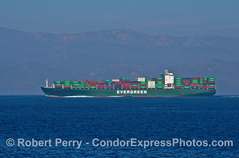 Ever Safety -  a Japaese-built (2007) container ship heading to Oakland, CA