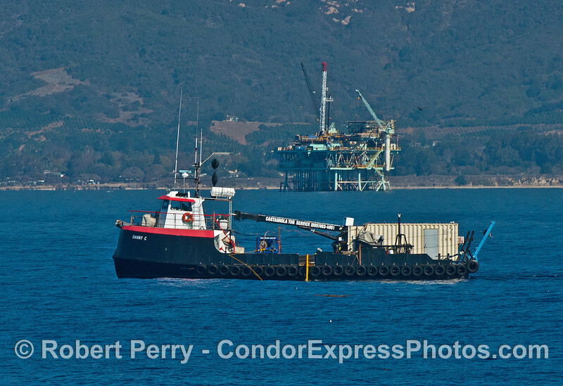 """The tug """"Danny C"""" at work in the Channel"""