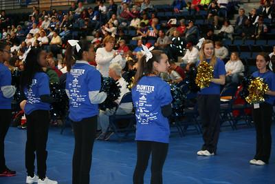 Opening Cheerleaders