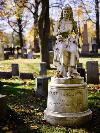 2014-11-15 - Mt. Pleasant Cemetery, Autumn