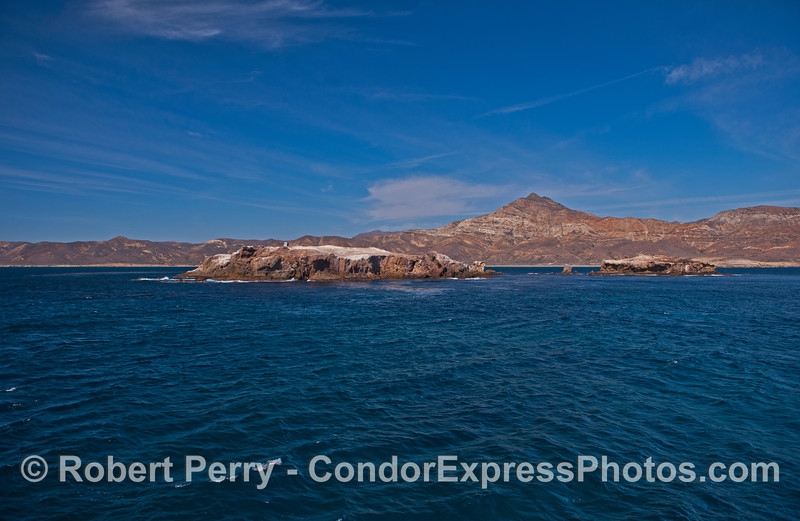 Gull Island with Santa Cruz Island