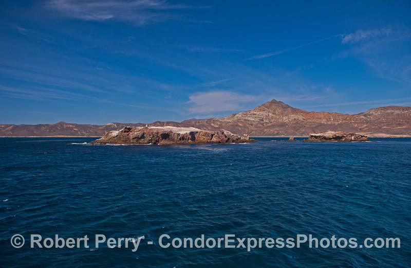Gull Island with Santa Cruz Island