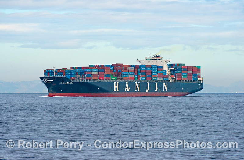 Container ship 'Hanjin Netherlands'