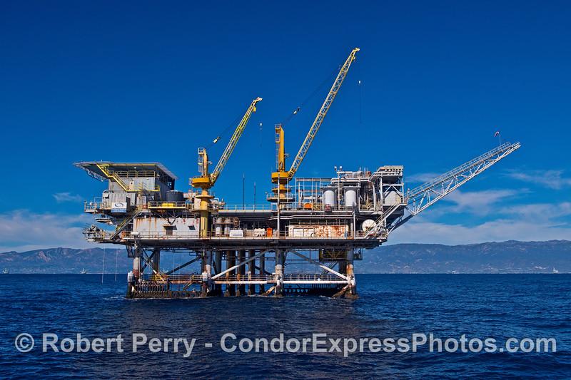 Offshore platform Habitat.