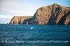The West End of Santa Cruz Island and a southbound migrating gray whale