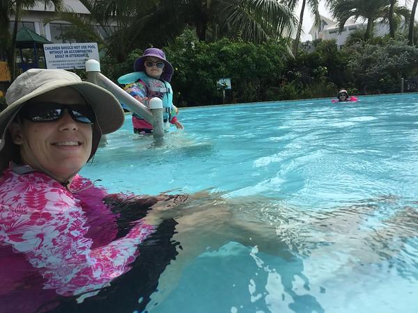 2014-12-28 Pool Day at Nikko Hotel