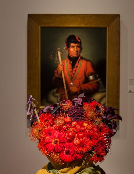 03-18-14 De Young Museum, Bouquets to Art 2014