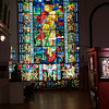 Polish Museum - Stained glass hidden and saved thru wwII