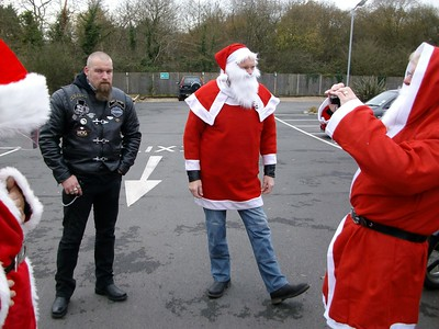 Christmas Prezzie Run to the Bedelsford Special School - 2014