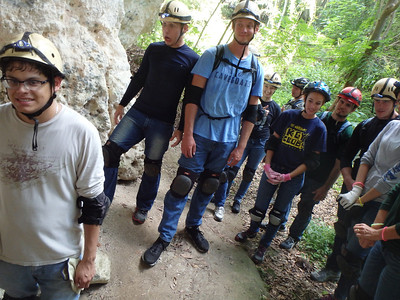 2014 Day Trip - SMILEYS (Caving)