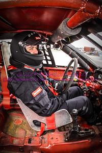 Preece, Mike in car 2014 (1 of 1)