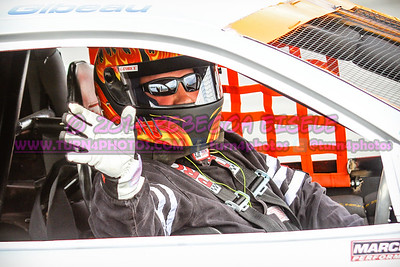 Gibeau, Donnie in car 2014 (1 of 1)