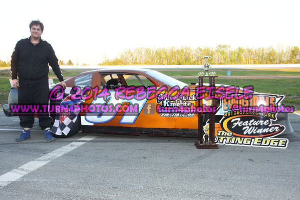 Bancroft, Dylan super stock win - 1