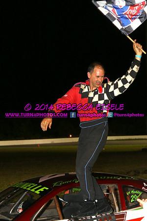 super stock August 23 winner Brunelle - 2
