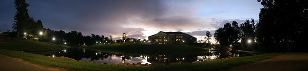 Panorama of GWU Sunrise