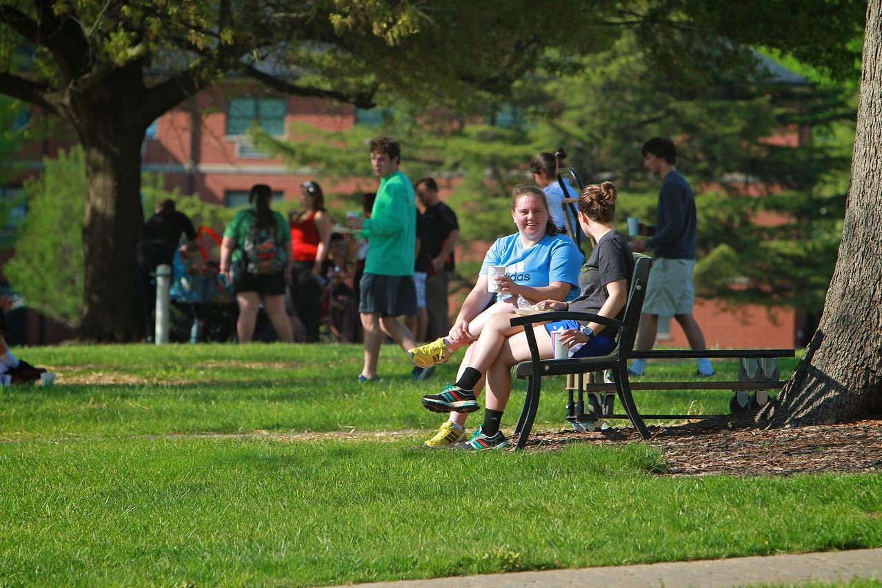 Spring General Campus Shot; 2014