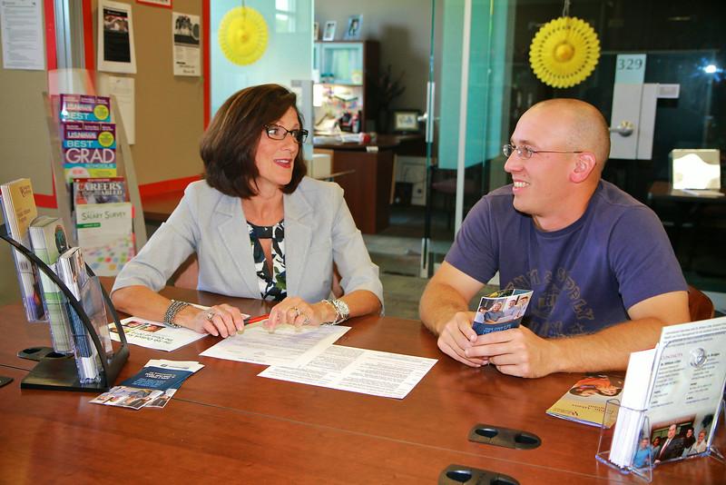 Career Development; Lisa Yerrick and Erin Cook, Summer 2014.