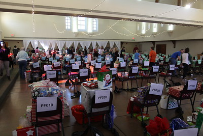 2014 Giving Tree Gift Sorting