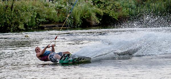 Heron Lake - Watersports and Wake Board Demo 2014