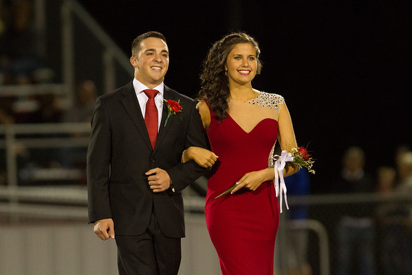 Junior Attendant Autumn Paolini, daughter of Jim and Cheryl Paolini, escorted by Thomas Russo, son of Vincent and Theresa Russo. — Photo by Dawn Wehman
