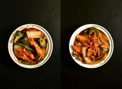 Szechuan Chicken & Hunan Chicken