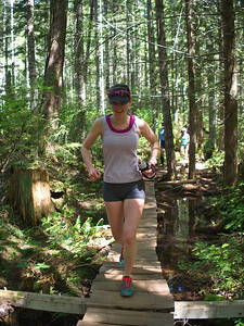 "Prairie Inn Harriers member Heather Bretschneider - ""Trails Day Out"" coordinator"