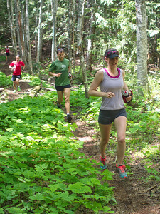 "Prairie Inn Harriers member Heather Bretschneider - ""Trails Day Out"" coordinator"