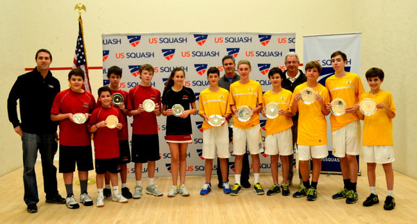 2014 U.S. Middle School Team Squash Championships