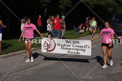 2014 Winamac Homecoming Parade