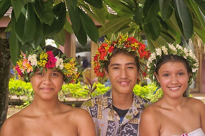 Tahitian Students