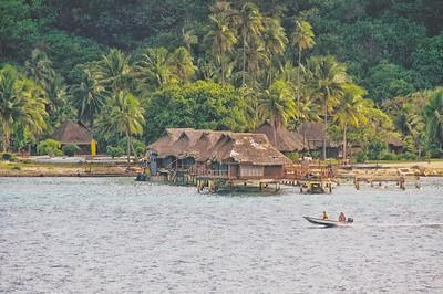 Stilt Resort huts