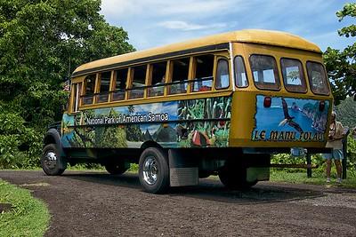 National Park Tour Bus