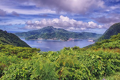 View of Pago Pago Harbor