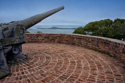 View from Australian Gun Replacement