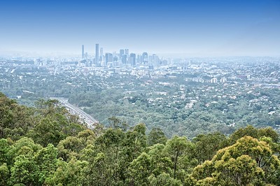View from Mount Coot-tha