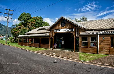 Kuranda Freshwater RR Station