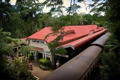 Kuranda RR Station