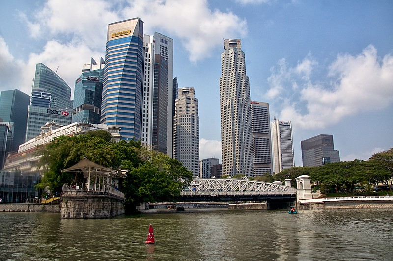 Bumboat Ride on Singapore River