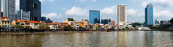 Bumboat Ride on Singapore River (Boat Quay)