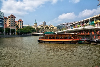 Bumboat Ride on Singapore River (Clarke Quay)