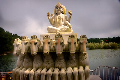 Hindu Shrine at Grand Basin Lake