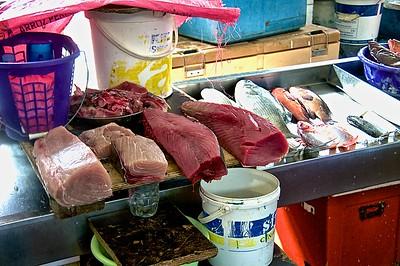 Vegetable Market  Fish Area