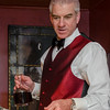 Dave pouring the port