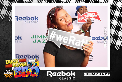 "2014.10.11 A3C Duck Down BBQ presented by Reebok Old 4th Ward | Atlanta, GA  ""Like"" us at http://www.facebook.com/omgbooth to TAG + SHARE + DOWNLOAD your photos  The Duck Down BBQ presented by Reebok October 11th for the A3C Festival.  Performances by Jay Electronica, 9th Wonder, Buckshot, Smif N Wessun, Jarren Benton, Chelsea Reject, Young Roddy, Raz Fresco and more. Special 1992 DJ set by Va$htie. Hosted by Beatminerz Radio w/ DJ Evil Dee & Mr. Walt."