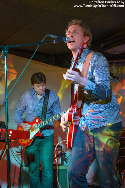Poppy Seed And The Love Explosion @ The Garrison, Toronto, ON, 8-Feb 2014