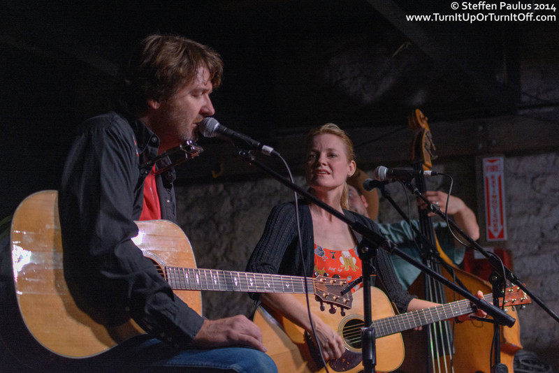 Bruce Robison & Kelly Willis @ The Main II, Austin, TX, 11-March 2014